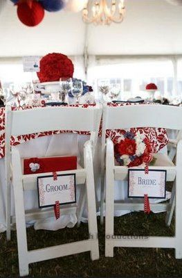 Eat, Drink, Marry: Our red, white, and blue wedding