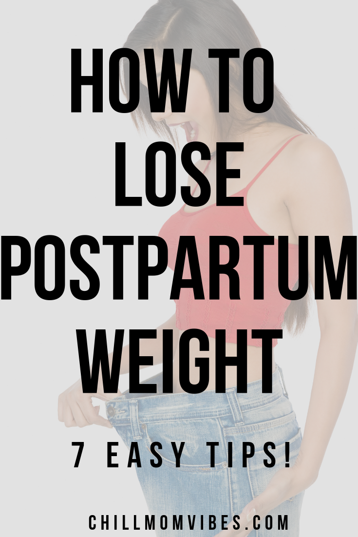 How did you lose your post pregnancy weight