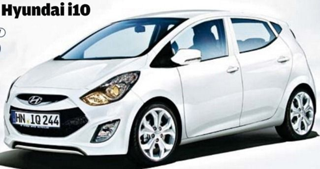 2014 Hyundai I10 New Model Picture Rendered Will Come In Diesel