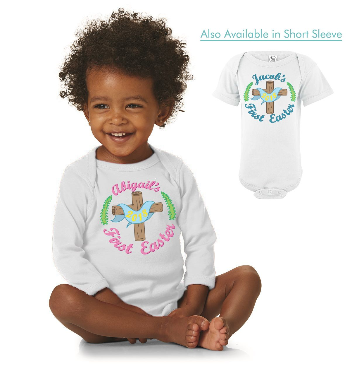 Religious first easter personalized onesie httpetsy2ee2txl religious first easter personalized onesie httpetsy2ee2txl negle Gallery