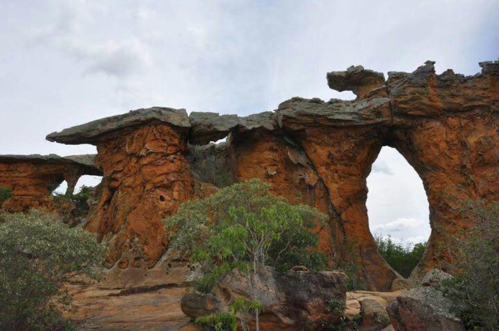 Pedra Furada - Serra do Catimbaú
