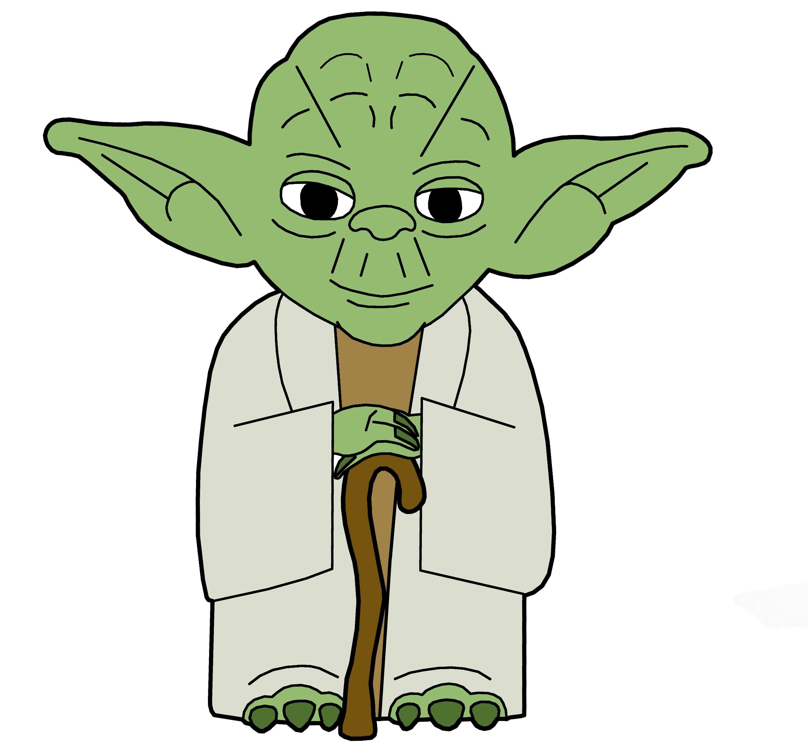 Star Wars Yoda Clip Art
