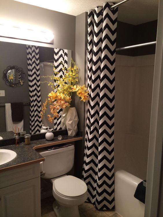 Bathroom Decor With Floating Shelves Bathroom Decor Blue Quarter Bathroom Decor Bathroom Decor Looks 3 In 2020 Restroom Decor Yellow Bathroom Decor Bathroom Decor