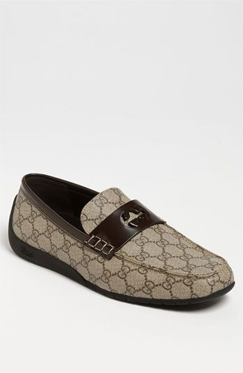 2dec1288d84b9a Gucci 'Silverstone' Driving Shoe available at Nordstrom | Man-Style ...