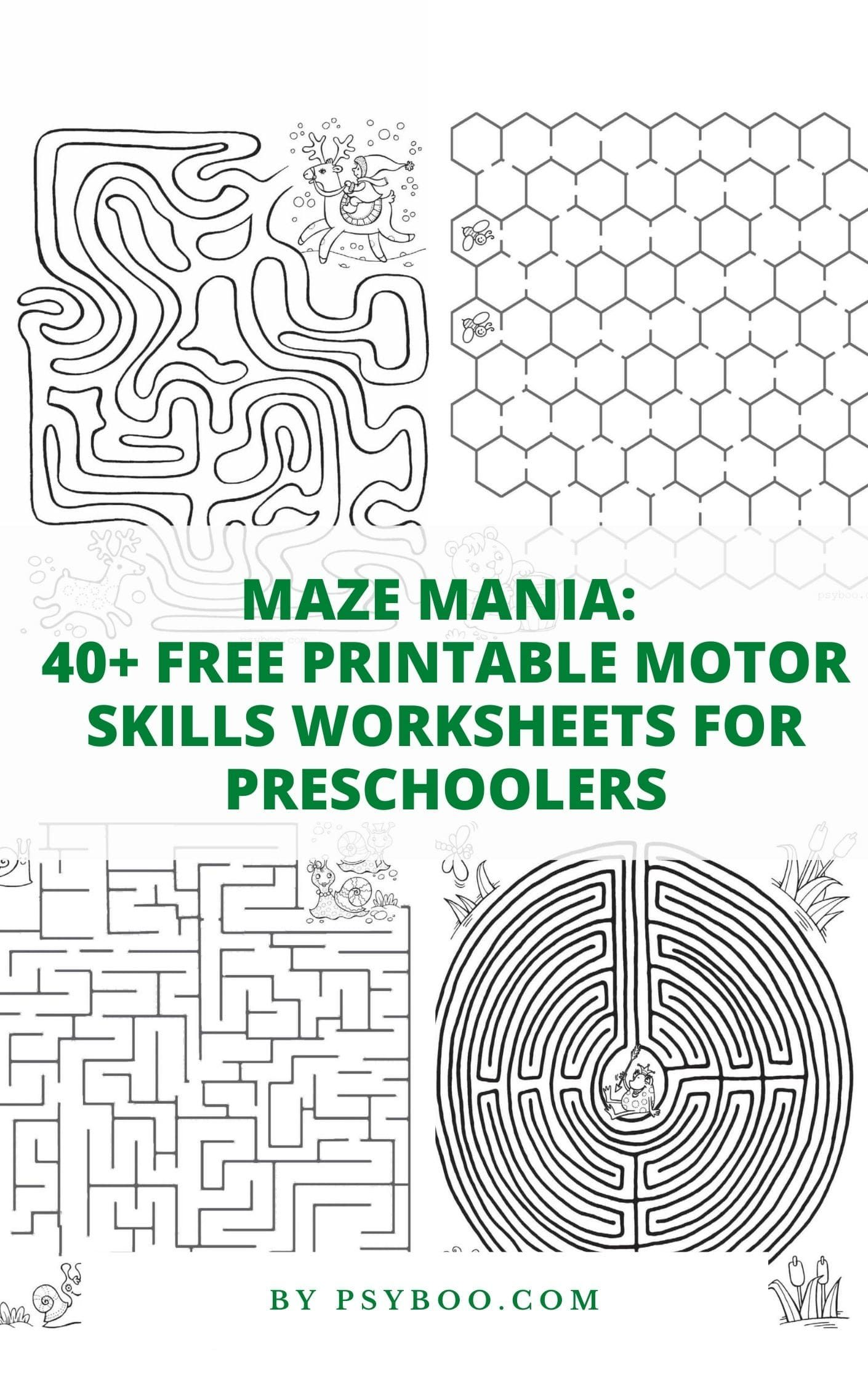 40 Free Printable Maze Games For Kids In