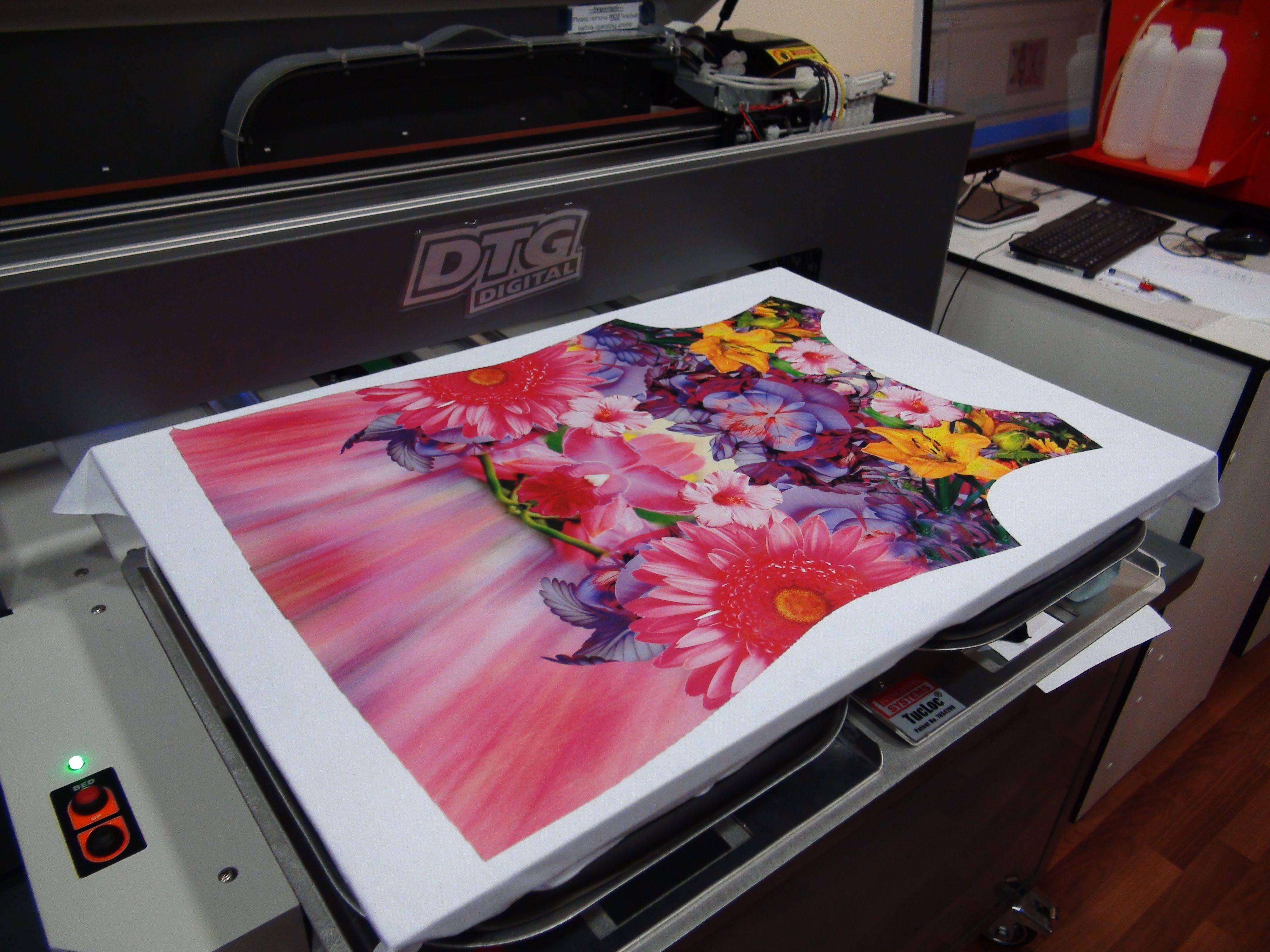 думаете, как делают фотопечать на ткани работе оказалось, что