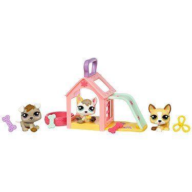 Littlest Pet Shop Pet Triplets 3 Pack Puppies Littlest Pet Shop Little Pets Lps Pets Lps Littlest Pet Shop