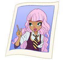 Bookworm Regal astoria rapunzel character regal academy regal academy