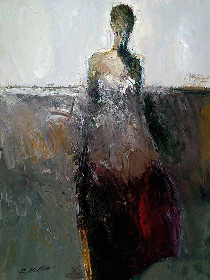 Dan McCaw, 1942 ~ Expressionist painter | Figurative ...