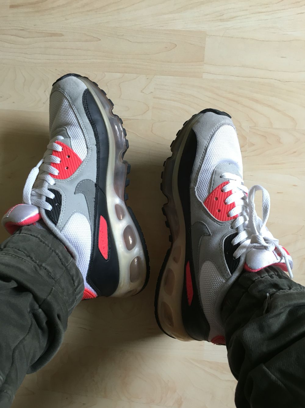brand new acda6 e7b85 Today sneakers pick ups  Nike Air Max 90 360 One Time Only Infrared