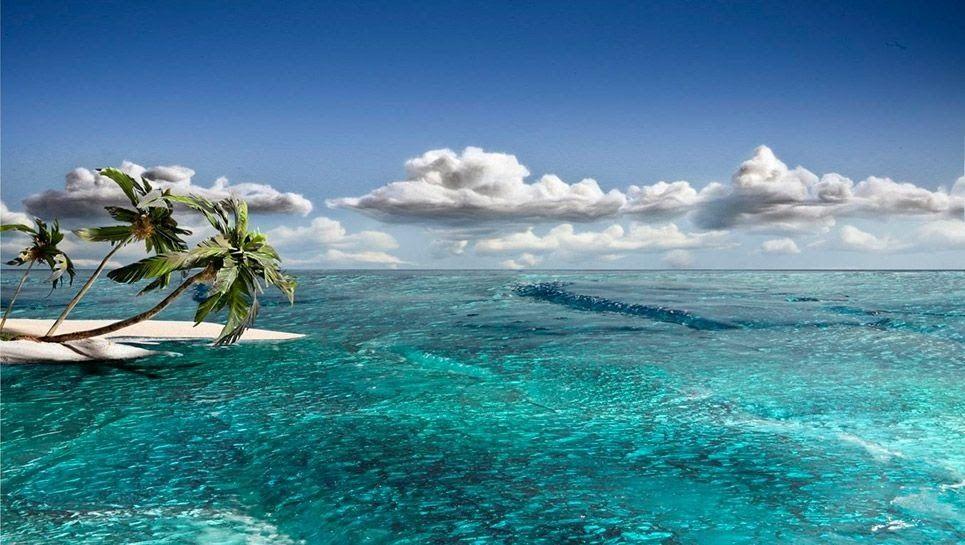 Gambar Pemandangan Pantai Yang Mudah (Dengan gambar ...