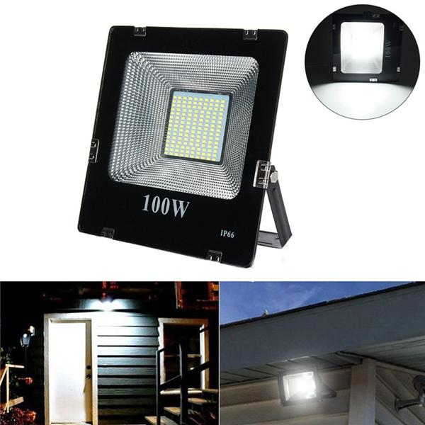 Us 38 27 100w Smd5630 Led Aluminium Flood Light Outdoor Ip66 Waterproof Yard Garden Landscape Lamp Ac180 265v Outdoor Lighting From Lights Lighting On Banggoo
