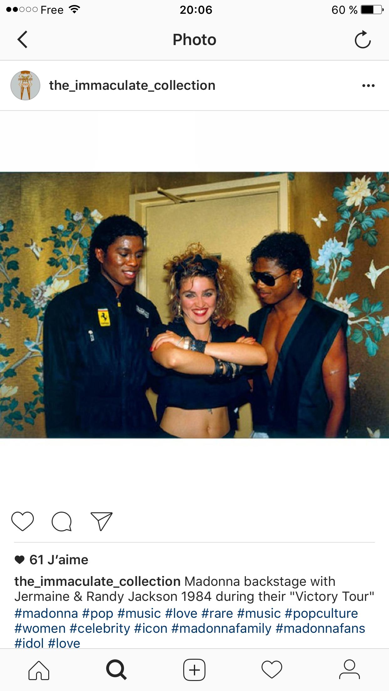 Madonna and the Jacksons