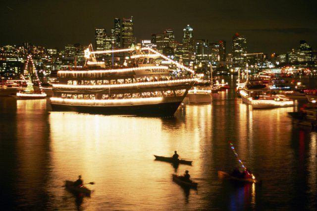 Cruise Into The Season 65 Ways To See The Christmas Ship Festival Seattle Christmas Visit Seattle Christmas Ships