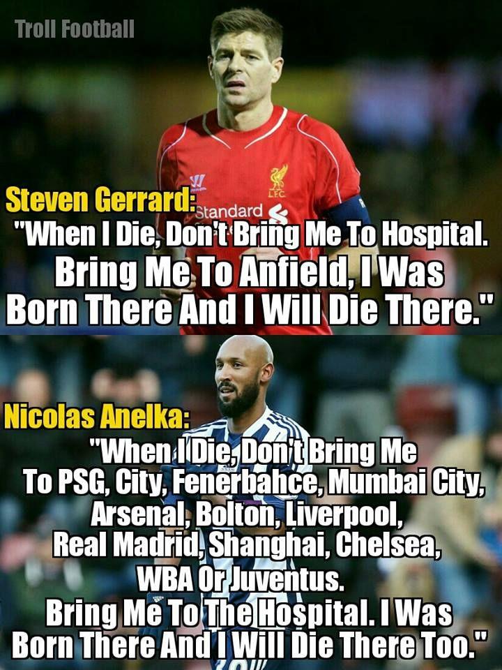 3e5a31c61cf Nicolas Anelka be like Football Troll