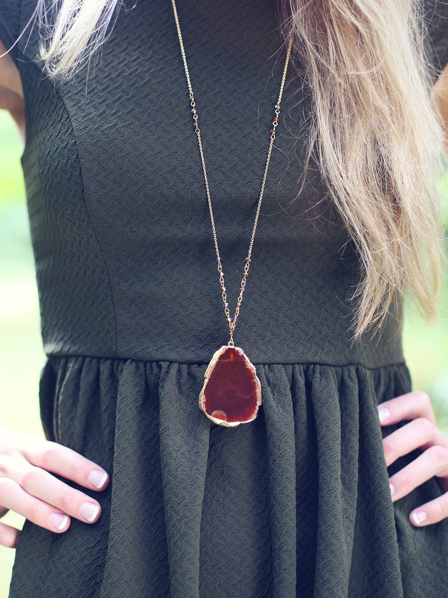 Altar'd State Spiritual Stone Necklace