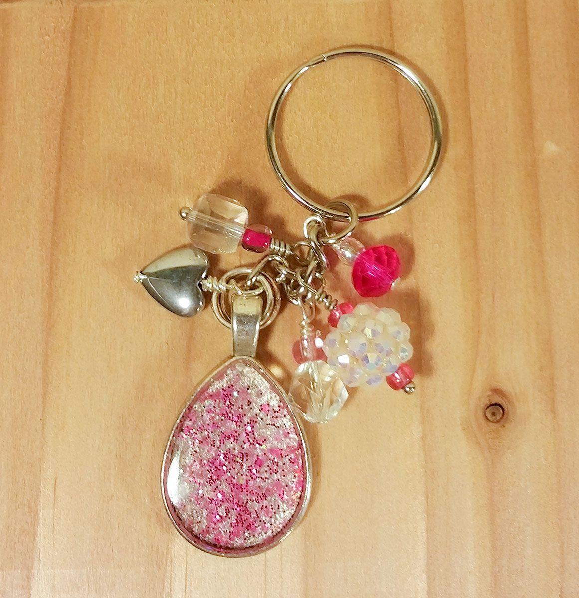Glitter Keychain 6cc99fe44b
