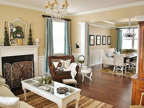 """Living Room Dining Room Furniture Arrangement How To Design The """"l"""" Shape Room  Adore Your Place  Interior"""