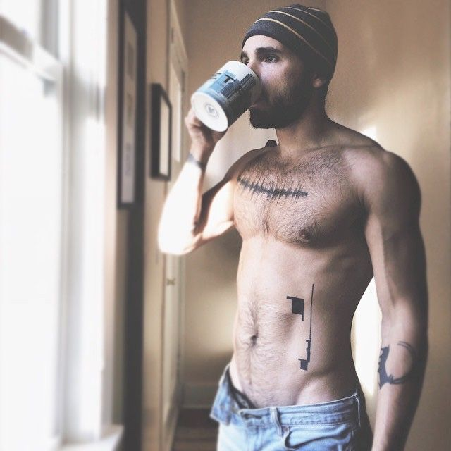 Image result for sexy men and coffee