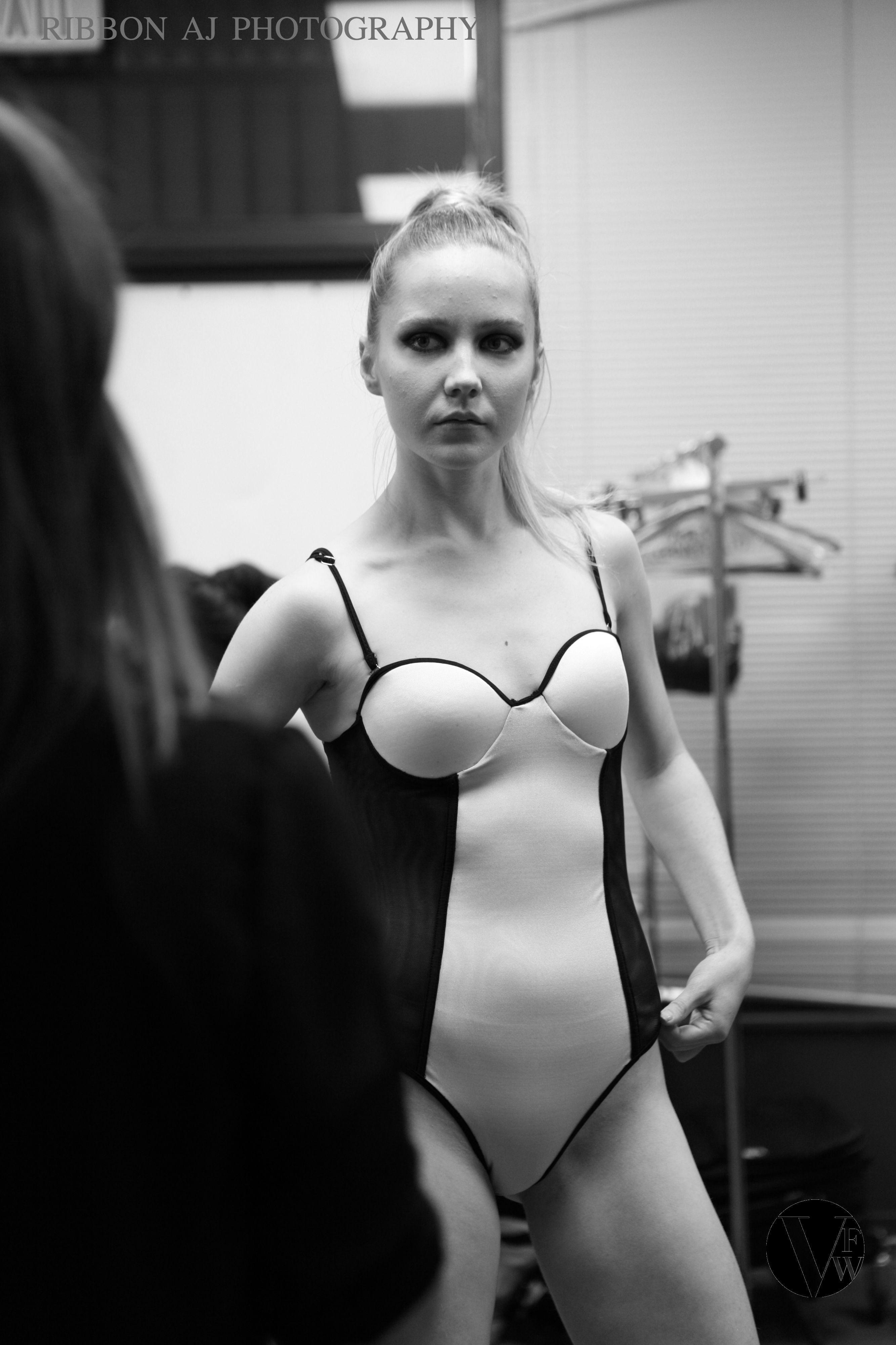 Backstage vancouver fashion week ribbon photography pinterest