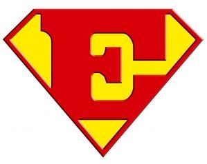 Superman logo avec un e igolem superman logo e il n 39 y a - Symbole de superman ...