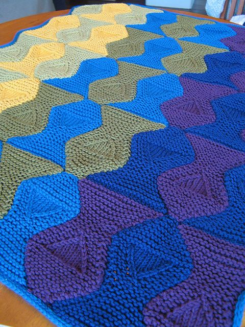 Blind Fish Baby Blanket Escher Inspired Pattern By Megwood55