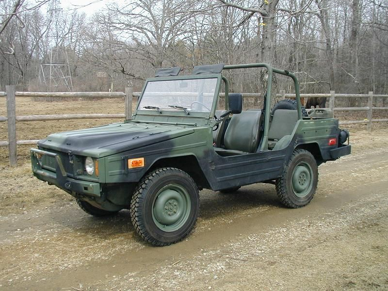 Used Cars For Sale Germany Military: The Volkswagen 183, Better Known As The Iltis (Polecat In