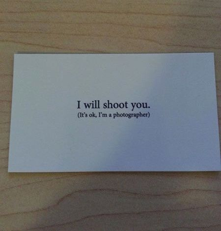 For On The Back Of My Business Cards Photographer Cardsphotographer Humorphotographer