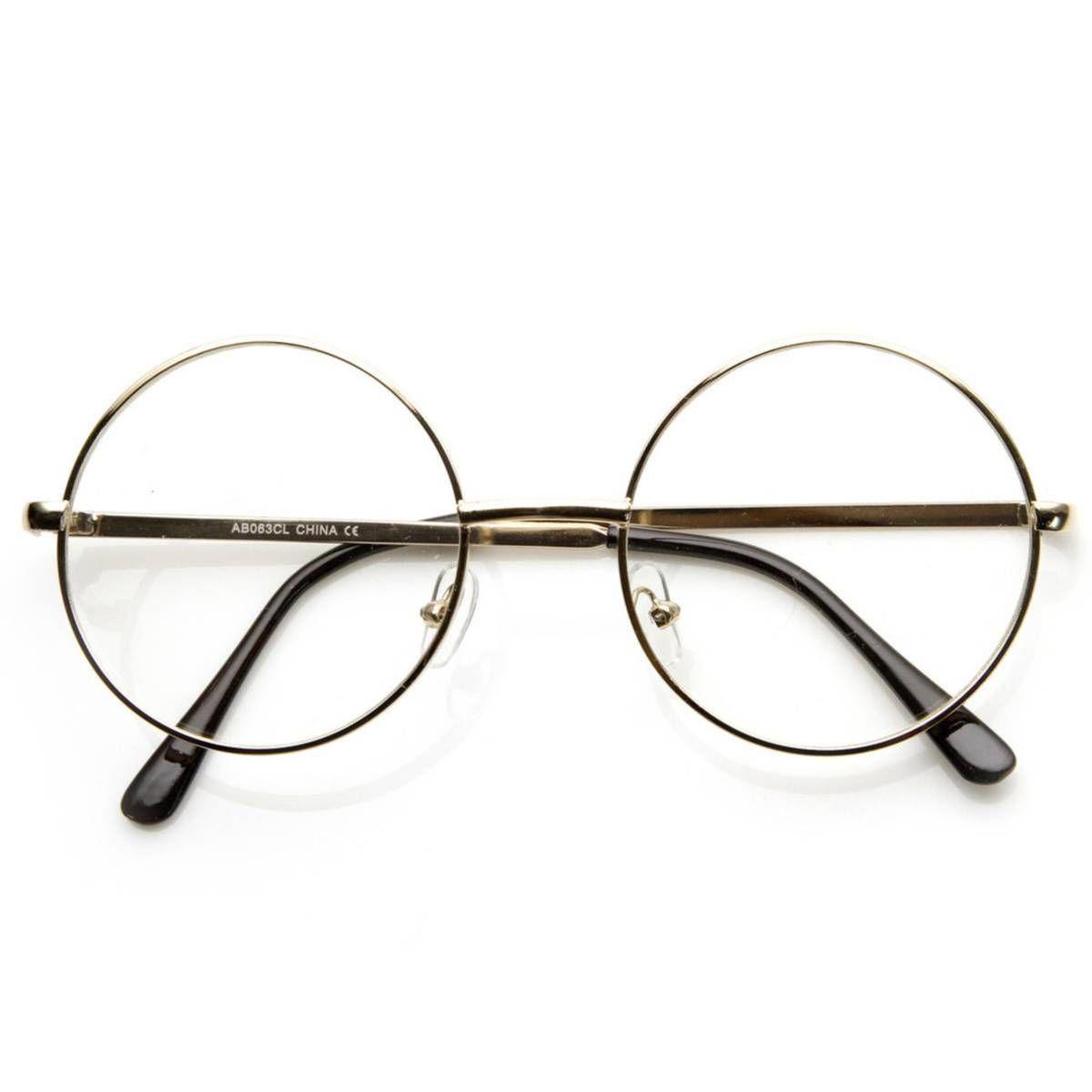 Oculos Redondo Harry Potter John Lennon Oculos Sem Marca Em