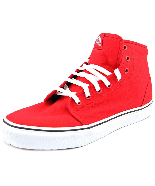 VANS VANS 106 HI ROUND TOE CANVAS SNEAKERS'. #vans #shoes