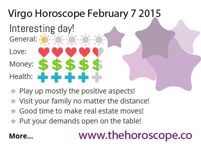7 february horoscope for virgo