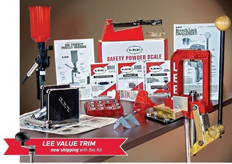 LEE Breech Lock Challenger Reloading Kit & Value Trim LEE 90030