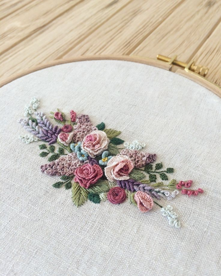 Hand Embroidery Tutorial, Brazilian