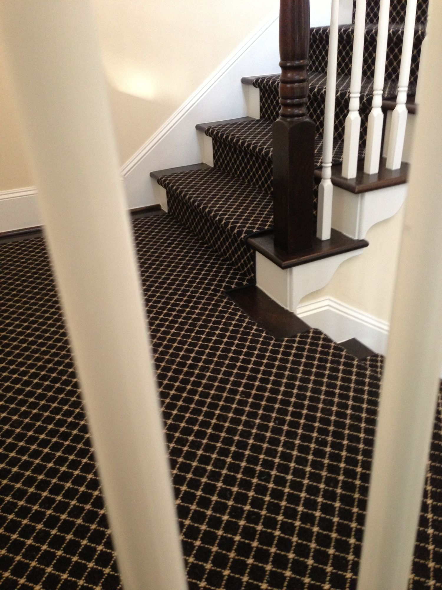 Elegant Take A Look At This Striking Runner We Installed After The Holidays On A  Stair In A Coastal Style Home. Stark Carpet Is One Of My Faves. : )