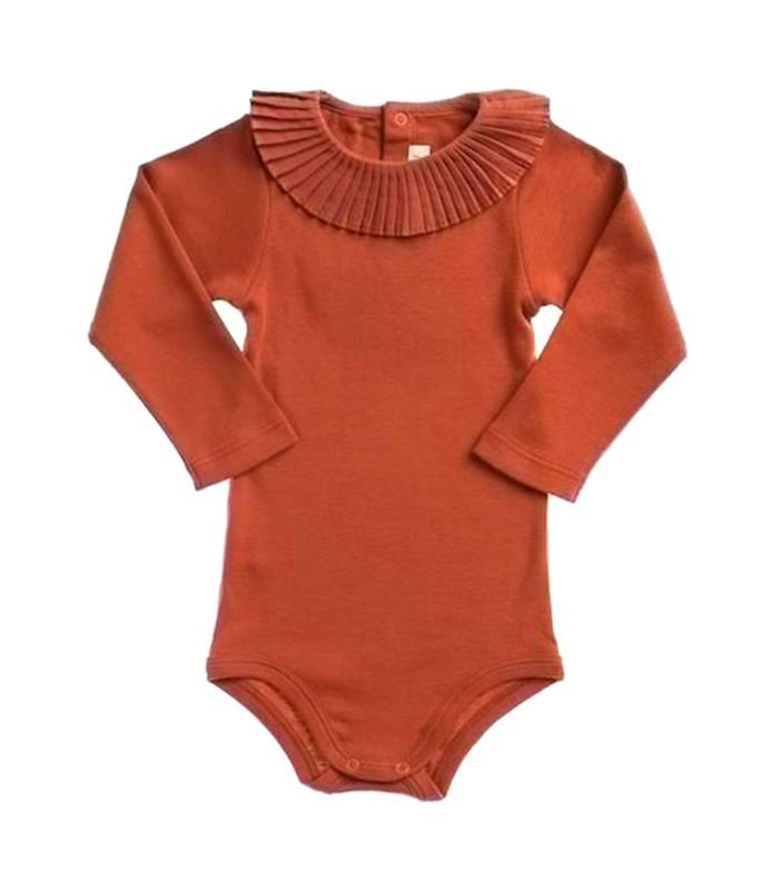 Best Baby Clothes Brands Delectable Misha & Puff Paloma Onesie  Terracotta  Baby Clothes Brands Decorating Design
