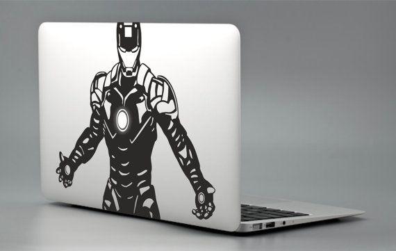2e32e656bc42 Iron Man Tony Stark Marvel - Apple Macbook Laptop Decal Sticker ...