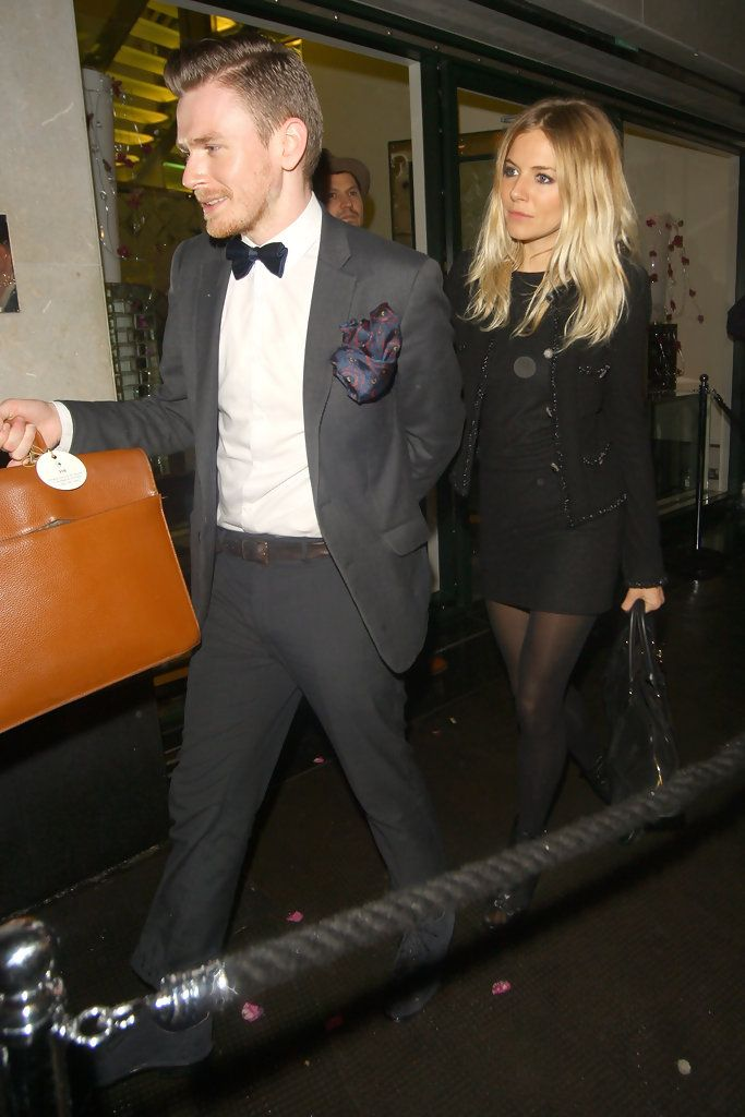 Sienna Miller - Sienna Miller Leaves the Matthew Williamson Afterparty