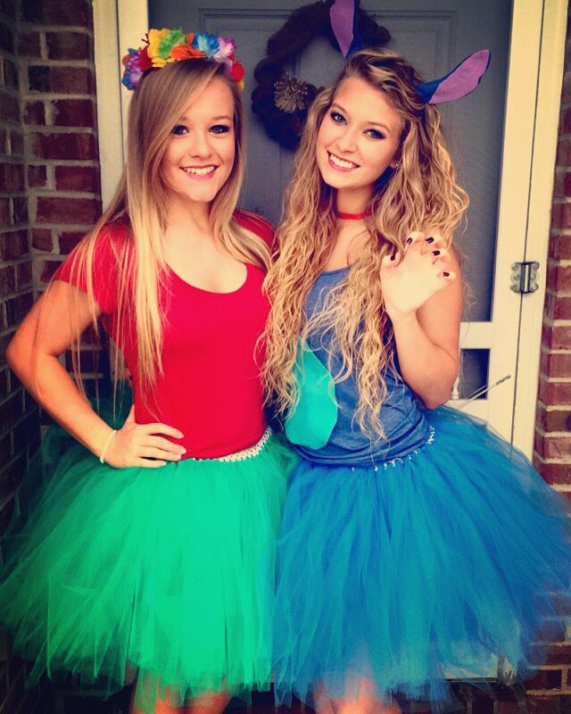 Diy Lilo And Stitch Costumes Happy Halloween Y All Halloween Costumes For Girls Halloween Costumes Friends Stitch Halloween Costume