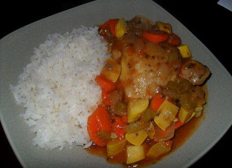 receta de pollo mexicano