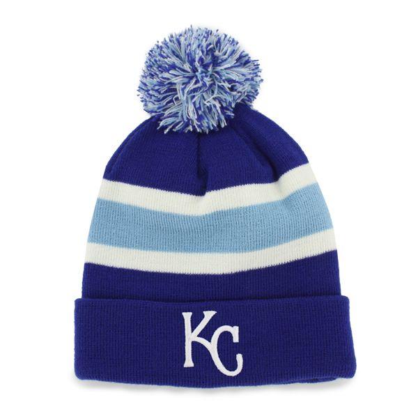 best authentic e2850 6bd9c Kansas City Royals Breakaway Cuff Knit Royal 47 Brand Hat