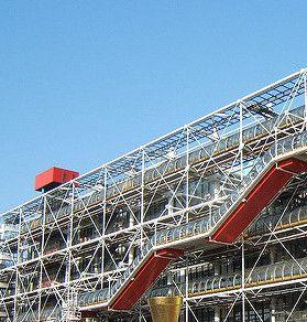 Module 9: Exterior of Centre Pompidou; Rogers, Piano, Franchini