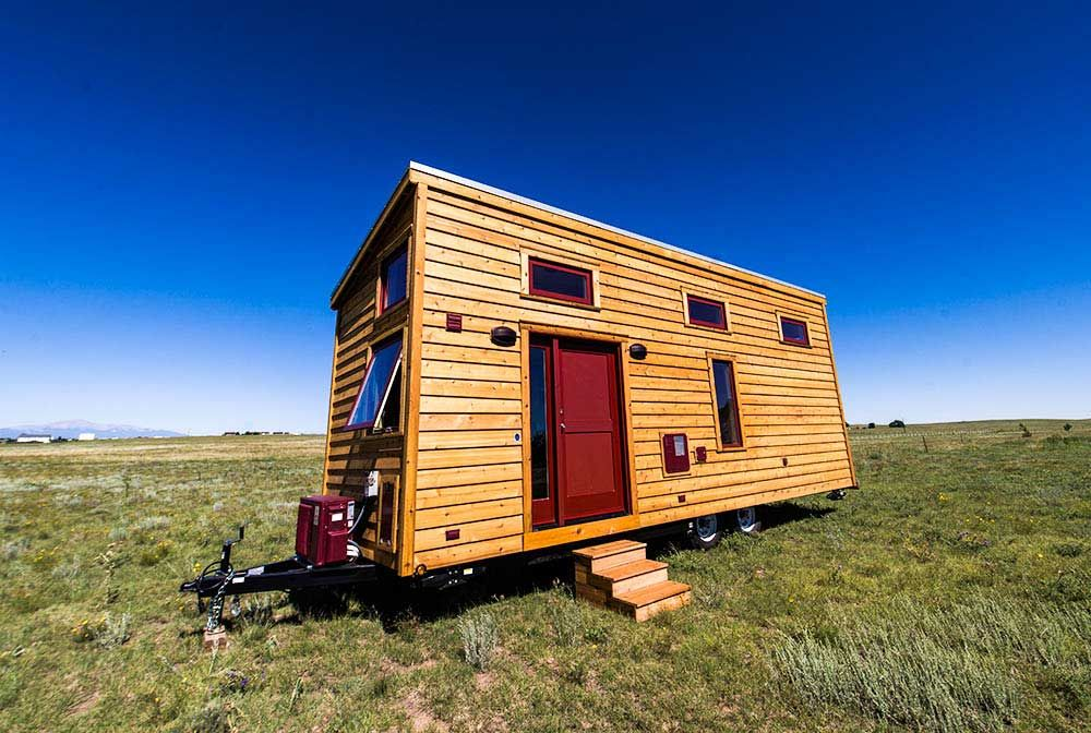 Classic Wood Exterior With Modern Fixtures   Roanoke By Tumbleweed Tiny  House