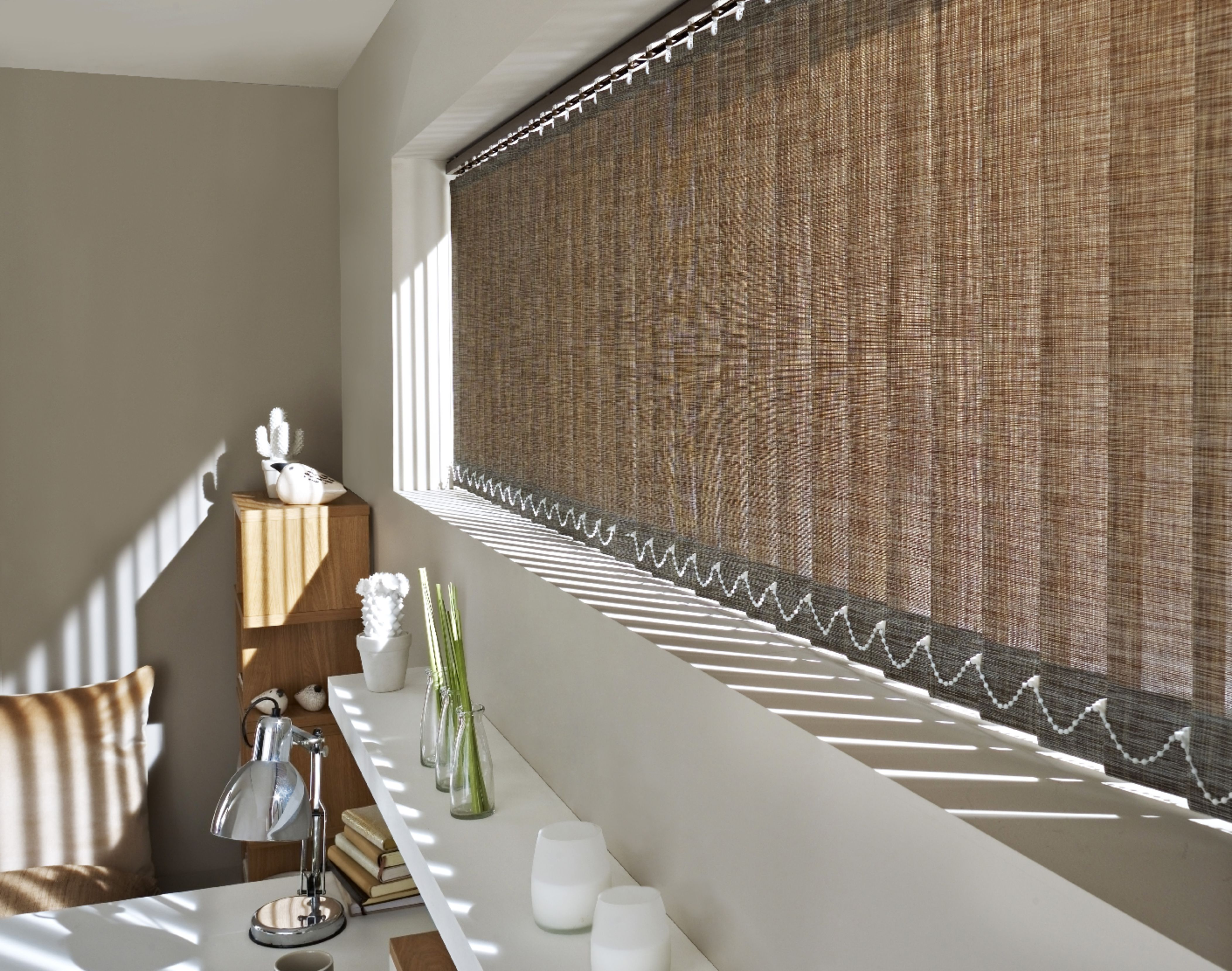 Marina coco vertical blind hillarysblinds cortinas - Cortinas verticales online ...