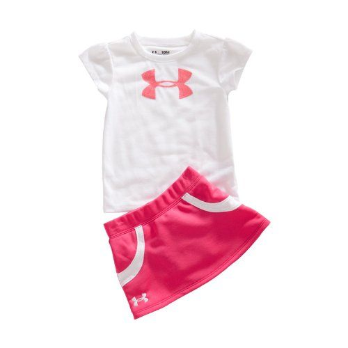 Girls Infant Tennis Skirt Set Tops By Under Clothing Impulse Tennis Clothes Under Armour Girls Girl Outfits