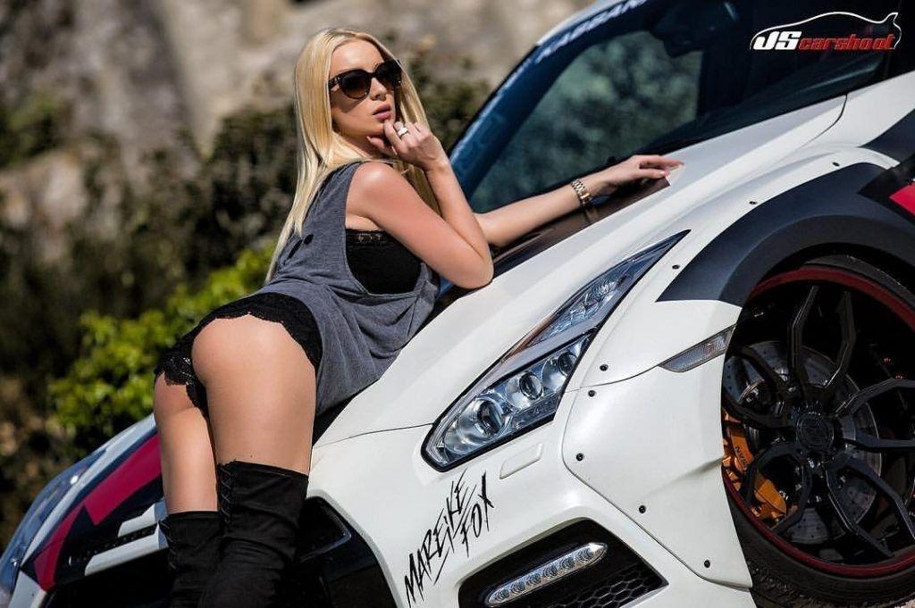 Mareike Fox Gtr Best Luxury Cars Movie Stars Nissan Gt R