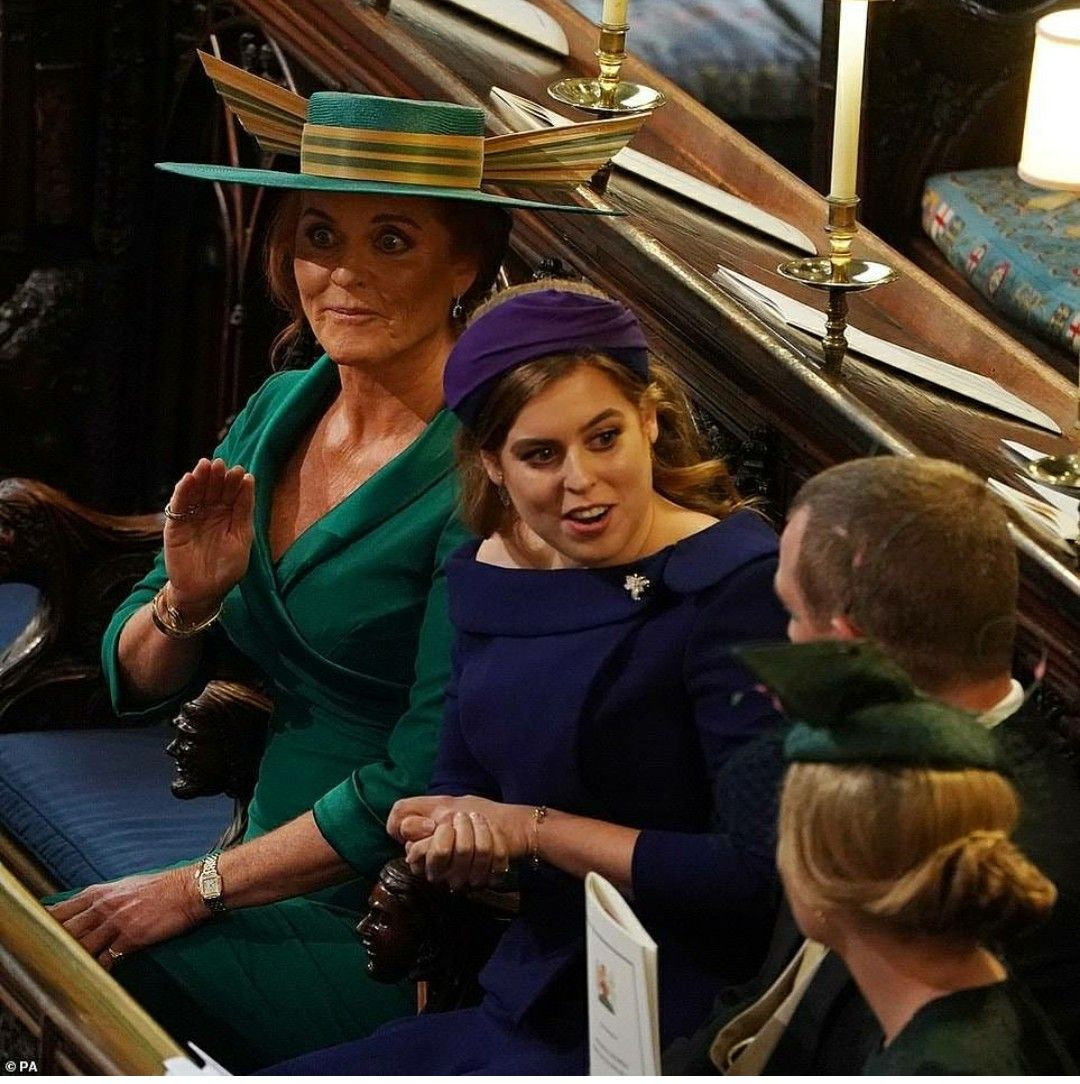 Sarah, Duchess Of York, Princess Beatrice, Peter And
