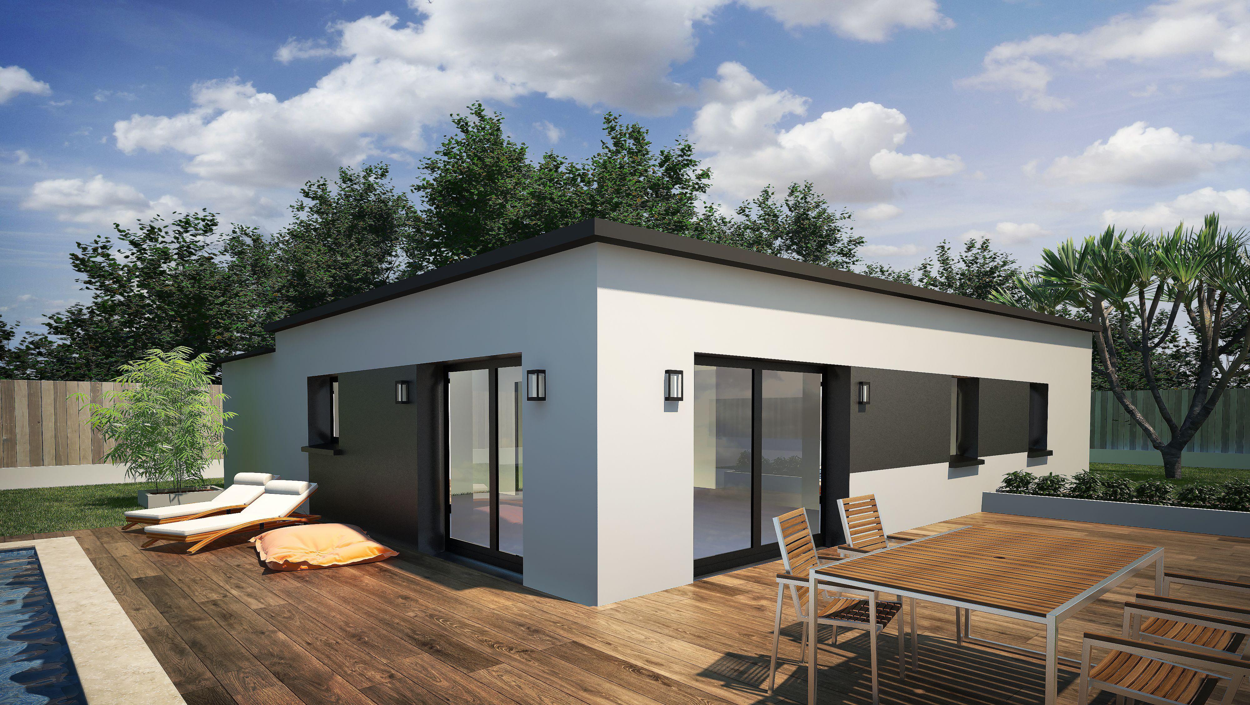 Maison plain pied 3 chambres 87 m² + garage | Nos modèles ...