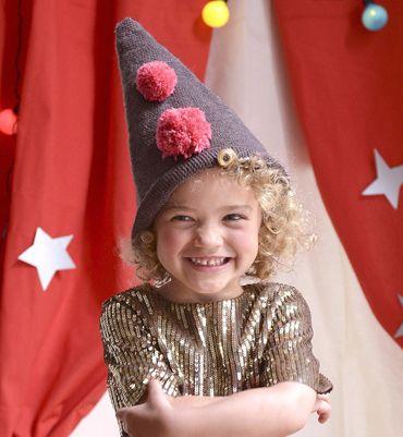 Modèle chapeau pointu en crochet - Modèles tricot enfant - Phildar