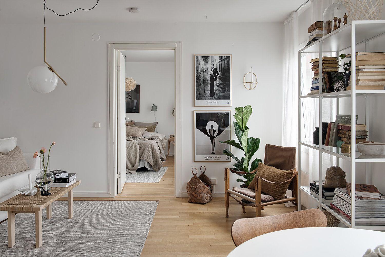 Interior Design Fai Da Te warm colours around a bright apartment and some organization