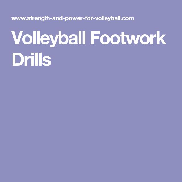 Volleyball Footwork Drills Volleyball Volleyball Drills Volleyball History